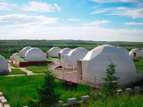 Glamping Dome Tents