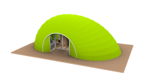 Cocoon Style Glamping Pod