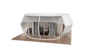 Donut Style Glamping Pod