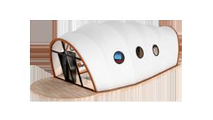 Pupa Style Glamping Pod