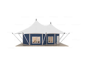 Two-peak Safari Lodge Tent(Freshing Style)