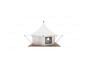 Mono-peak Safari Lodge Tent(Freshing Style)
