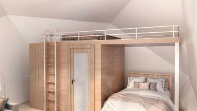 Polygon Glamping Pod Bedroom