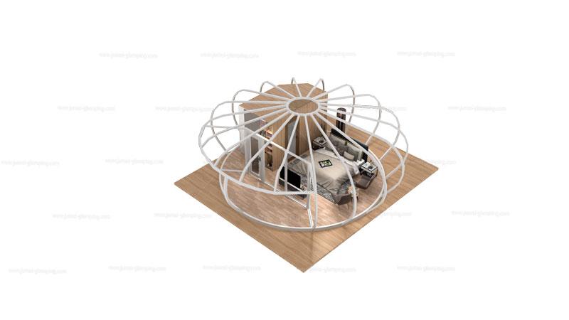Pumpkin Glamping Pod Structure