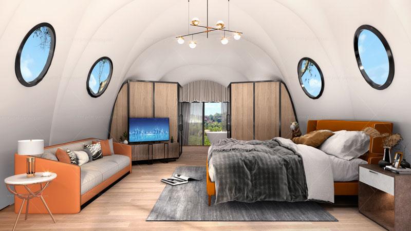 Pupa Glamping Pod Interior