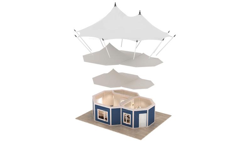 Safari Lodge Tent J Series Breakdown