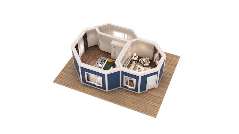 Safari Lodge Tent J Series Floor Plan