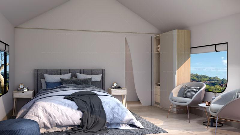 Safari Tent TY-32 Bedroom