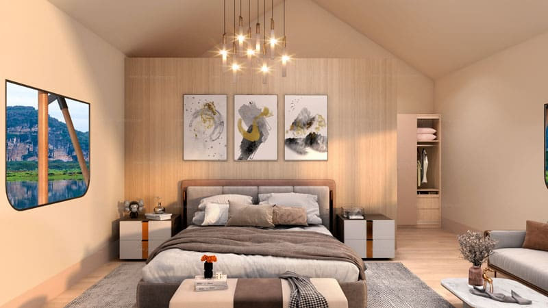 Safari Tent TYS-36 Bedroom
