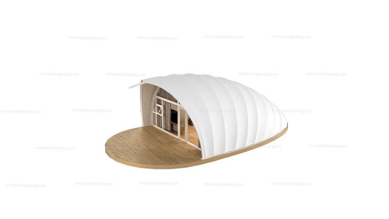 Shell Glamping Pod