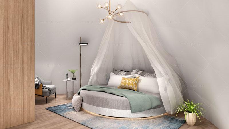 Snail Pod Bedroom