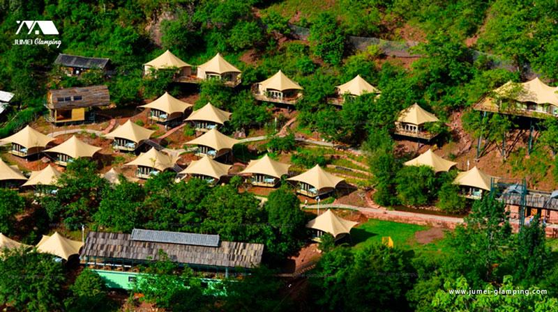 Eco Safari Lodge Tent in the Canyon