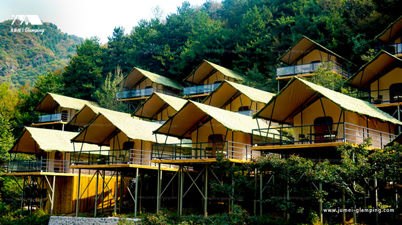 Safari Tent on the hill
