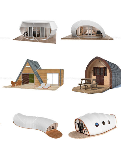 Types of Glamping Pods