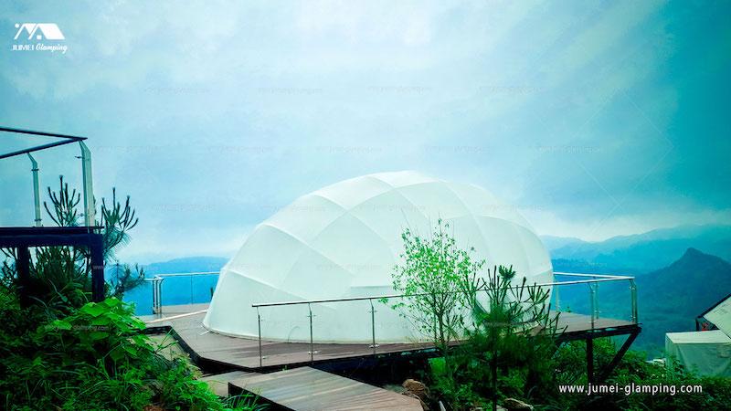 Waterdrop Glamping Pod on Mountain Top Resort