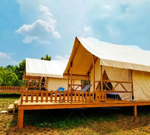 Safari Tent in the City Glamping campsite