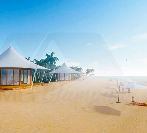 Luxury Safari Glamping Tent on the Island